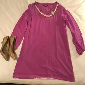 Gianni Bini Dress with Cut Out Long Sleeves
